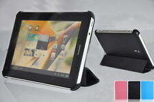 Flip Four Fold Cover Case For Huawei MediaPad Vogue S7-601/Youth S7-701 Tablet