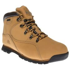 New Mens Groundwork Tan Natural Gr66 Nubuck Boots Lace Up
