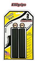 ESI Chunky Silicone BMX MOUNTAIN BIKE Grips BLACK Yeti GT Kona Scott Merida