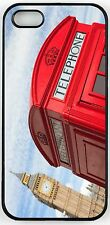 Rikki Knight British Phone Booth and Big Ben Case for iPhone 4/4s, 5/5s, 5c