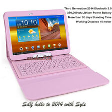 Bluetooth Keyboard Leather Case Cover Stand for Samsung Galaxy Tab 3 10.1 P5200