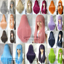 Hot Sell! Twenty-Two Colors New Fashion Long Straight Cosplay Wig