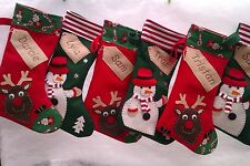 Personalised Christmas Stocking - Handmade