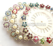 Wholesale Or Retail New Crystal Muslim Hijab Pins Islamic Scarf Pins Many Colors