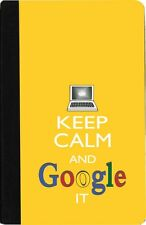 Rikki Knight Keep Calm And Google It -Yellow Color Case for iPad Mini