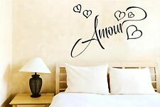 Amour Love In French Wall Stickers Decals Art Quotes