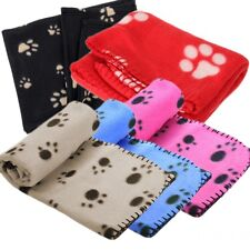 New Paw Print Pet Soft Fleece Blanket Dogs Puppy Cat guinea pig X-Large PT1