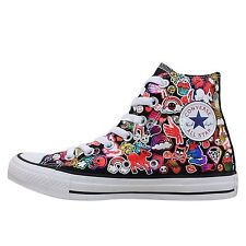 Converse Chuck Taylor All Star Hi Cartoon Print 2014 Shoes Plimsolls 143067C