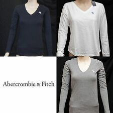 Nwt Abercrombie & Fitch Womens Long Sleeve Tee T-shirt Sz Xs,S,M,L