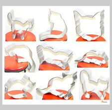 Cat / Kitten  Cookie Cutters -  Cookies - Brownies - Feline Shapes for Crafts