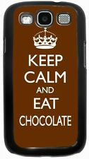 Rikki Knight keep Calm and Eat Chocolate Case for Samsung Galaxy S3 S4 S5