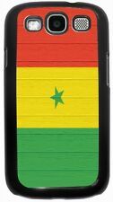 Rikki Knight Senegal Flag on Distressed Wood Case for Samsung Galaxy S3 S4 S5