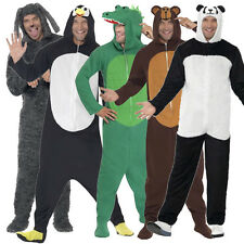 Adult Onesies Fancy Dress Costume Ladies Mens Outfit New Animal Pyjamas Jumpsuit