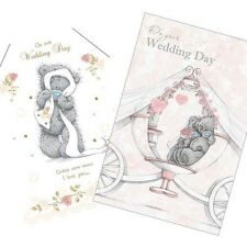 Me to You Tatty Teddy Wedding Day Greeting Card or Paper Marriage Bride Groom