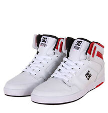 DC Shoes ADYS100022 Nyjah High SE Mens Trainers White/Black/Red