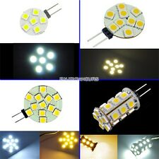 EN2 G4 5050 SMD Light Home Marine Boat Car LED  Lamp Bulb DC 12V Pure/Warm White