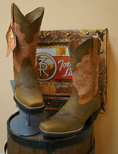 LADIES TONY LAMA COWBOY BOOTS! DUSTY CHEROKEE! RR2107L! NEW IN BOX! SALE SALE