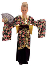 Geisha Girl / Japanese Girl Fancy Dress Costume Ages 4-10 Years Available