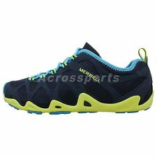 Merrell Aquaterra 2014 Navy Volt Mens Outdoors Hiking Water Shoes Lightweight