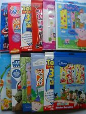 Kit Autocollant Personnage Paradise A4 - Grande Gamme Disney Peppa Etc