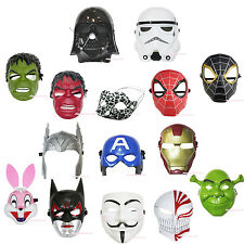 Halloween Super Hero Iron Man Avenger MASK Party Costume Cosplay Child Kid Toy