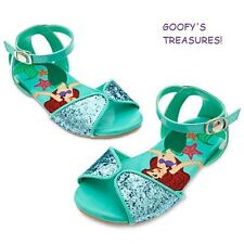 Disney Store Ariel Little Mermaid Sandals for Girls NWT All Sizes!