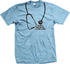 Im Not A Doctor But Ill Take A Look Funny Rude Humor Sexual Joke Mens T-shirt