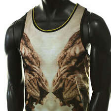 LION TIGER EGYPTIAN PHARAOH BLACK GOLD 3D YOLO DOPE DRAKE TANK TOP MUSCLE TSHIRT