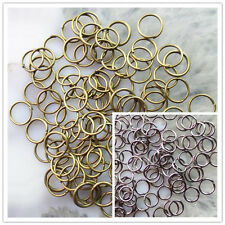 Black/Bronze Plated Metal Jump Rings 1000pcs 4mm,5mm,6mm,8mm,10mm XLZ3