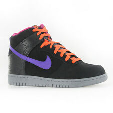 Nike Dunk High Black Purple Leather Mens Trainers