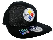 Pittsburgh Steelers NFL Reebok Sideline Player Onfield Black Fitted Hat