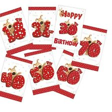 Boofle Pup Age Birthday Cards - From 18th to 70th - Suitable for Men or Women