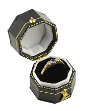 Victorian Antique Style Ring Boxes - suitable for smaller rings - Shape Choice