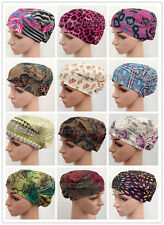 New Style Linen Print Muslim Inner Hijab Caps Islamic Underscarf Hats