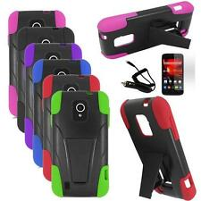 Phone Case For ZTE Majesty / ZTE Source Rugged Cover Stand Car Charger Film