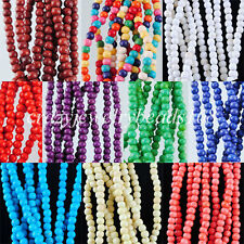 "Howlite Turquoise Gem 3mm(Approx 150PCS) Round Spacer Beads 15 1/2 "" BG136"