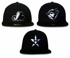 New Era 59FIFTY - MLB Cooperstown Collection Black/White - Fitted Hats and Caps