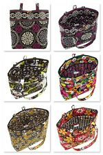 Vera Bradley Tote Bag Tortoise Shell Toggle in Many Colors Free Shipping *NWT*