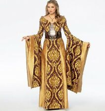 Cosplay Gown Queen Dress 6 t 22 McCalls SEWING PATTERN 6940 Game of Thrones