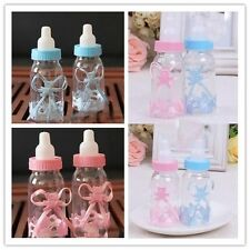 12pcs Baby Shower Game Favours Cute Candy Box Christening Bottle Gift For Baby-W