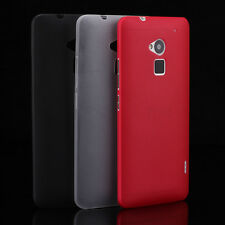 For HTC One Max T6 Ultra Slim TPU Rubberized Hard Gel Case Cover Skin 3 Colors