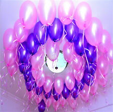 Colorful 12 Inch Thick Latex Pearlised Balloons Birthday Wedding Party Decor