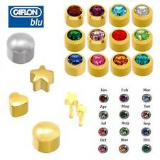 CAFLON PAIR OF EAR PIERCING STUD EARRINGS CHIOCE OF STYLE & COLOUR 3 FOR 2 OFFER
