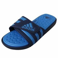 Adidas Adissage SC Navy Blue Velcro Supercloud 2014 New Slide Slippers Sandals