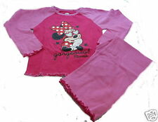Disney Minnie Mouse Rosa Pijamas De Niñas Siglos 3-10 Disponible Hermoso Minnie