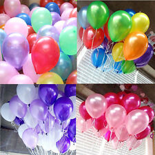 "New 100PCS Bulk Wholesale lots 12"" Birthday Wedding Party Decor Latex Balloons"