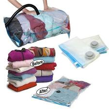 LARGE VACUUM COMPRESSED STORAGE BAG BAGS SPACE SAVER SAVING CLOTHES BEDDING