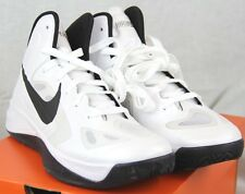 *NEW* Nike Men's Hyperfuse TB White/Black Basketball Shoes 525019-100