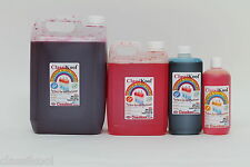 CLASSIKOOL SLUSHIE SLUSH PUPPY SYRUP 6 OR 7 TO 1 MIX 60 FLAVOURS & 8 COLOURS