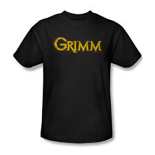 Grimm Gold Logo T-Shirt Adult Men Black S M L XL 2X 3X